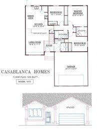 Casablanca Homes   House PlansBungalows Bi level