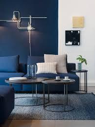blue sofa blue furniture blue decor living room decor room makeover modern decor contemporary furniture mid century furniture blue furniture