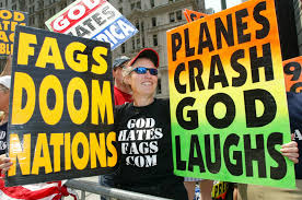Image result for westboro baptist church and sam brownback
