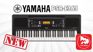<b>YAMAHA PSR</b>-E363 Новый домашний <b>синтезатор</b> - YouTube