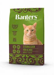 <b>Banters Sterilized</b> рыба с рисом <b>сухой корм</b> для кошек