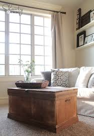 room vintage chest coffee table: free plans to build a vintage style chest or trunk from ana whitecom inspired by pottery barn distressed rebecca trunk