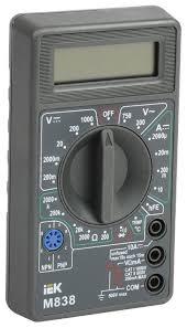 <b>Мультиметр IEK Universal M838</b> — купить по выгодной цене на ...
