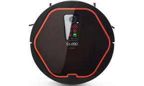 <b>Робот</b>-<b>пылесос iClebo Arte</b> (Цвет: <b>Carbon</b>/Orange)