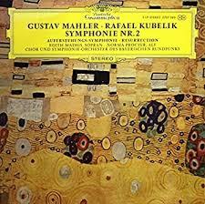 Gustav <b>Mahler</b> - Gustav <b>Mahler Rafael Kubelik</b> Symphonie NR 2 ...
