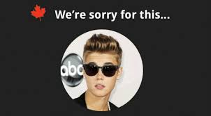 Canada Apologizes For Justin Bieber… | WeKnowMemes via Relatably.com