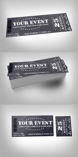 best ideas about ticket event invitation design chalkboard event ticket