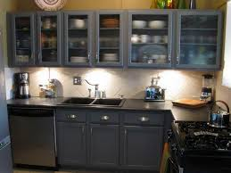 blue kitchen cabinets small painting color ideas:  small design painting old kitchen cabinets color blue dark design