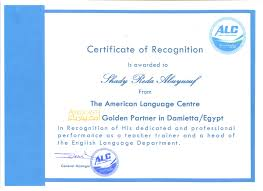 amideast golden partner certificate of recognition britishey 1 001