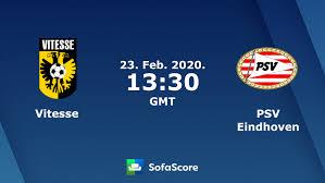 <b>Vitesse</b> PSV Eindhoven live score, video stream and H2H results ...