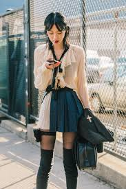 Street <b>Style</b> #NYFW / Día 6 | <b>Harajuku fashion</b> street, Korean street ...