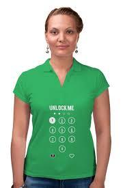 Рубашка Поло Unlock Me! #2667427 за 1 540 руб. в Москве - <b>Printio</b>