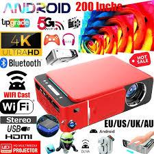 <b>Hot Sale 2021</b> Newest 200Inch HD Bluetooth 4K Android <b>7.1</b> ...