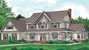 Farmhouse Floor Plans   Farmhouse Designs from FloorPlans comFloor Plan AFLFPW   Story Home   Baths  Farmhouse