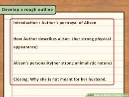 how to write a critical essay with sample essays   wikihow image titled write a critical essay step