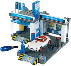 Theo Klein - Bosch Car Repair Station Premium Toys ... - Amazon.com