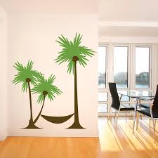 palm tree wall stickers:  images about decals stencils wallpapers on pinterest vinyls queen palm tree and stencils