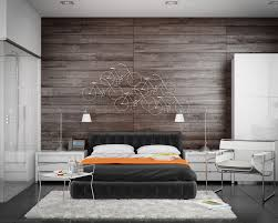 modern bedroom concepts:   interior wood paneling