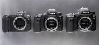 Сравнительный тест <b>Canon EOS</b> R, <b>5D Mark</b> IV и 6D <b>Mark</b> II