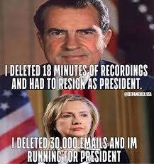 The Difference Between Hillary Hillary and Richard Nixon | The ... via Relatably.com