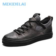 MIXIDELAI <b>Genuine</b> Leather First Grade Cow Leather <b>Sneakers</b> ...