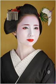 Image © John Foster. When I make pictures of people, it's because I find them very engaging. Either it's their posture, the colour of their clothing, ... - john-foster-geisha