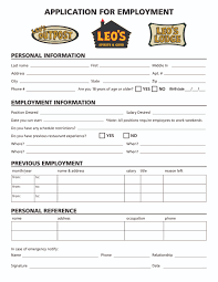 leo s lodge employment or fill out the online application below