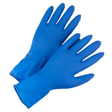 West Chester 2550 <b>Disposable Latex Gloves</b> - Powder Free, 14 mil ...