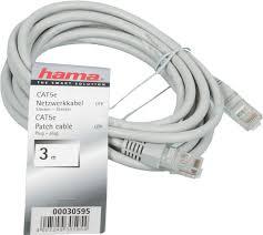 <b>Сетевой кабель Hama</b> 3m H 30595 - Чижик
