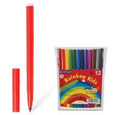 <b>Фломастеры CENTROPEN Rainbow Kids</b>, 12 цветов, смываемые ...