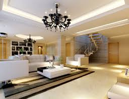 model living rooms: modern bright spacious living room fully furnished d model max
