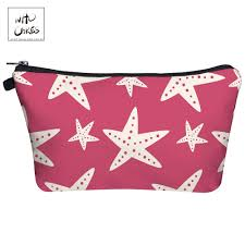 Who Cares Fashion Makeup Bags <b>starfish 3D Printing</b> With ...