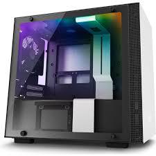Купить <b>корпус Mini-ITX Minitower NZXT</b> H200i CA-H200W-WB Mini ...