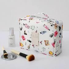 Cosmetic Bag Women Makeup Organizer Travel Toiletries ...