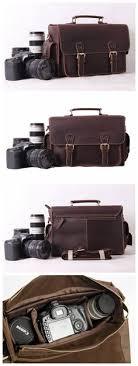 Leather <b>Camera Bag</b>