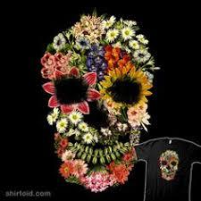 <b>Floral Skull Vintage</b> | Floral skull, Flower skull, Floral