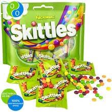 <b>Skittles жевательные конфеты</b> в сахарной глазури 10 м/у ...