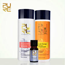 <b>New PURC</b> Gold therapy <b>keratin</b> hair straightening advanced ...
