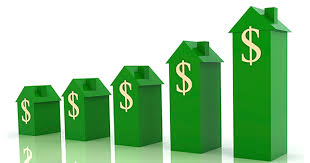 Image result for housing market increase symbol