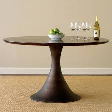 room pedestal table