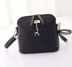 <b>Women Vintage</b> PU Leather <b>Shoulder Bag</b> Shell Model Handbag ...