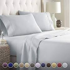 HC COLLECTION-Hotel Luxury Bed Sheets Set 1800 ... - Amazon.com