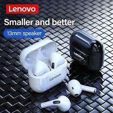 Original <b>Lenovo LP40</b> TWS <b>Wireless</b> Earphones in-ear Bluetooth ...