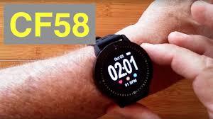 CF58 IP67 Waterproof Blood Pressure Fitness <b>Smartwatch</b> ...