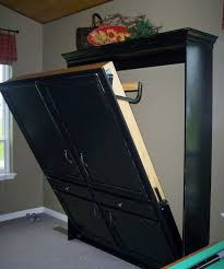 diy murphy bed wouldnt this be great for your main floor second bedroom bed for office