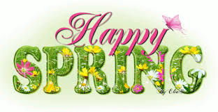 Image result for clip art happy spring
