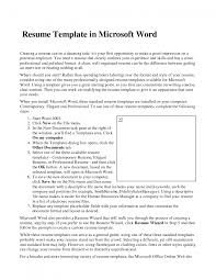 cover letter resume template in microsoft word curriculum cover letter create a resume in ms wordresume template in microsoft word 2007 large size