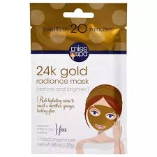 Miss Spa <b>24k Gold Facial Sheet</b> Mask