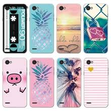 for lg q6 m700n m700a m700dsk m700an case soft tpu silicone plus cover cute dog patterned alpha q6a shell