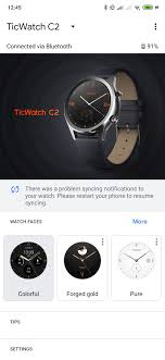 I don't receive email/whatsapp notifications on my watch - <b>Wear OS</b> ...